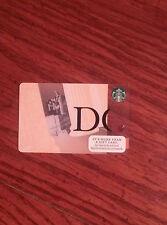 2015 Washington DC Lincoln Memorial Starbucks Card NEW No Value/Swipe + Bonus