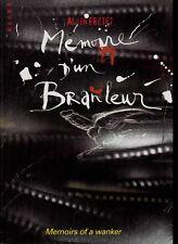 MEMOIRE D'UN BRANLEUR MEMOIRS OF A WANKER ALAIN FRETET E. ALIXE 1999