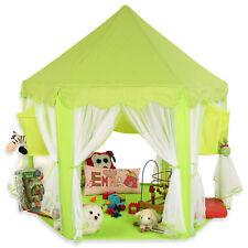 KIDUKU® Kinderzelt Babyzelt Spielhaus Spielzelt Prinzessin Bällebad Grün