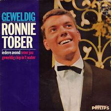 "RONNIE TOBER – Geweldig! (1965 EUROVISION VINYL EP 7"" HOLLAND)"