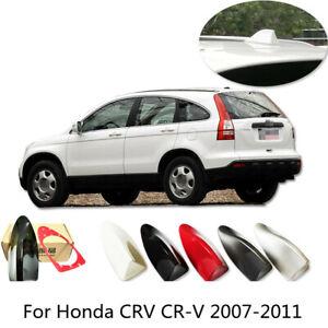 1pcs ABS Shark Fin Antenna Aerial Cover Trim For Honda CRV CR-V 2007-2011