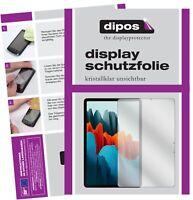 2x Pellicola per Samsung Galaxy Tab S7 Plus Protettiva Protezione Schermo Claro