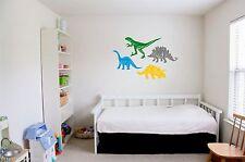 Dinosaur Vinyl Wall Art Kids Boys Home Bedroom Playroom Decorate Customize new
