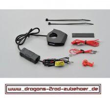 DAYTONA SLIM TYPE 2-fach USB Steckdose Lenkerbefestigung für NAVI HANDY iPHONE