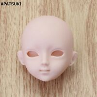 "Soft Plastic Practice Makeup DIY Doll Head For 11.5"" Doll Head For 1/6 BJD Doll"