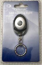 STATUS NEW Powerful LED Keychain Light Mini LED Torch Light Keyring