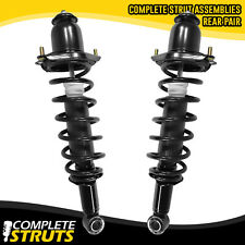 03-08 Toyota Corolla Rear Quick Complete Struts & Coil Springs w/ Mounts Pair x2