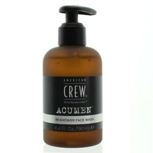 American Crew Face Wash Acumen In Shower Facial Cleanser 190ml For Men