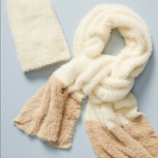 Sleeping on Snow Scarf and Hat Set So Soft Sold at Anthropologie New