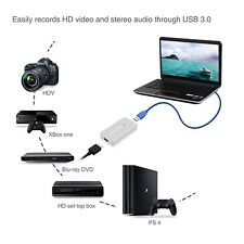 HDMI to USB 3.0 HD Video Capture Card 1080P 60FPS Recorder For Windows Mac Linux
