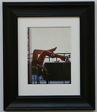 The Temptress by Jack Vettriano Framed & Mounted Art Print Black Frame