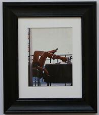 Il Temptress da Jack Vettriano incorniciato & MOUNT ART PRINT CORNICE NERA