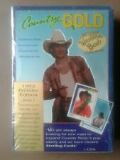 COUNTRY GOLD 1992 PREMIER EDITION SERIES 1 STERLING CARDS SET **SEALED** CMA
