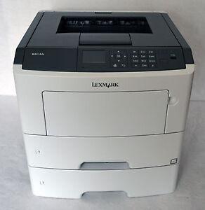 Lexmark MS610dte S/W LaserJet 35S0430 nur63.405 Seiten Duplex LAN USB 256 MB