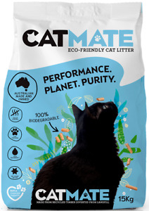 15kg Bulk Cat Kitty Litter Bag High Absorbtion Odour Controlling Recycled Wood