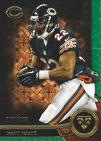 2015 Topps Triple Threads Football Emerald #32 Matt Forte /199 Chicago Bears