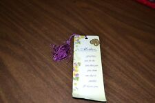 """""""Mother"""" paper bookmark with """"Special Mother"""" PIN- God Bless"""
