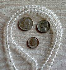 Purifying Cleanser Crystal Quartz Handmade Buddhist Beads Mala Necklace
