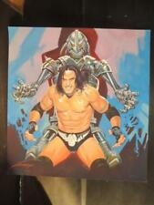 GUERREROS DEL RING # 27 CIBERNETICO WRESTLING MEX COVER ART SIGNED BY GALLUR