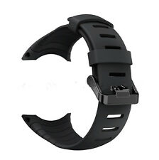 For SUUNTO CORE SS014993000 Luxury Rubber Watch Band Replacement Band Strap