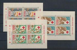 LO68063 Togo nurses red cross sheets MNH