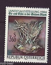 Austria nº 1773 ** mineral y hierro en los verdes Mark