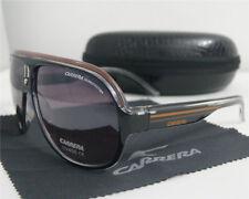 New Men Women Retro Sunglasses Fashion Unisex Glasses Black Frame Red Line W/Box