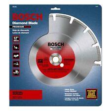 "BOSCH 12"" SEGMENTED DIAMOND ASPHALT CONCRETE GAS POWER SAW BLADE DRY/WET DB1265"