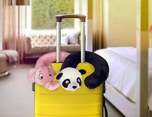 Neck Pillow For Kids Funny & Cute Elephant and Panda Travel Pillow for Children