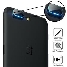 For OnePlus 5 5T Tempered Glass Back Rear Camera Lens 9H Protector Film Cover