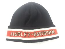 Harley Davidson Beanie Winter Knit Sock Cap Hat  One Size Adult Worn - S58