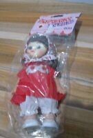 """Vintage Raspberry Patches Doll Leaf Confectionary 7"""" NIP"""