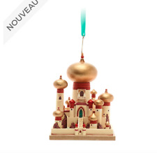 Disney Castle Collection Ornament Château Jasmine Palais Aladdin limited New