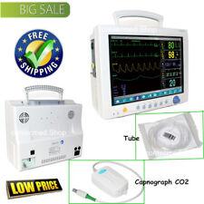 CONTEC 12.1''Monitor paziente ETCO2 Vital Signs 7 Parametro,Capnograph CO2+Tube