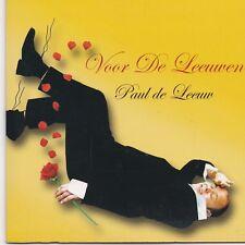 Paul De Leeuw-Voor De Leeuwen cd single