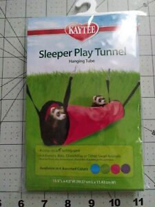 "SUPERPET SLEEPER PLAY TUNNEL 15.5"" X 4.5"" Color blue"
