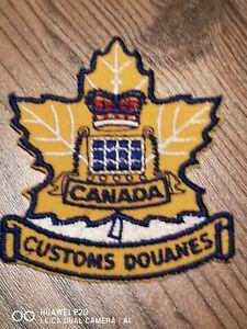 Rare Customs Canada patch!