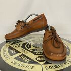 Mephisto Spinnaker Men's 8.5 Hazelnut Brown Leather Boat Shoes Loafers Air-Relax