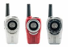 Cobra SM660 8km Range Walkie Talkie PMR 2 Way Radio VOX Triple Pack