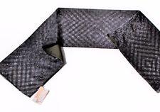 Cache-nez écharpe Homme laine soie 100% 27 x 140 cm authentique PAVLOVO POSSAD