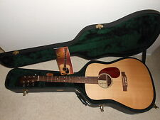 "Martin DR Acoustic Dreadnought 6 string Guitar USA made w/ OHSC ""Minty"""
