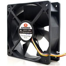 SUPERRED CHA12012CB-TA-F fan 120*120*38mm DC12V 0.70A 4pin