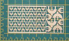 Warhammer 40,000 Dark Angels Space Marine Chapter & Squad Symbols Brass Etch