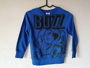 Boys Toy Story Buzz Sweatshirt Jumper New Age 3/4 Years