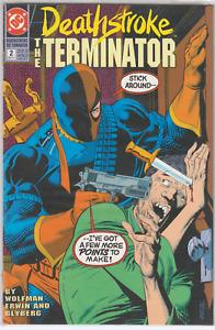 Deathstroke The Terminator #2 DC Comics 1991 NrMt Unread