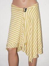 TIFFANY ALANA Zipfelrock gestreift S 36 NEU 122,-€ Designer Jersey Rock gelb
