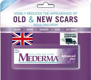GENUINE New Mederma ADVANCED PLUS Scar Gel 5g For Scars & Marks UK Seller