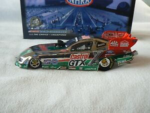 JOHN FORCE 2008 1/24 GTX RETRO FORD MUSTANG FUNNY CAR(COLOR CHROME)