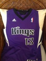 Adidas NBA Sacramento Kings Tyreke Evans  13 Jersey Size S Lenght+2 Youth 81e68b9fa