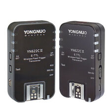 2pcs Yongnuo YN-622C II Transceivers for Canon 750D 1000D 1100D 1200D 300D 350D